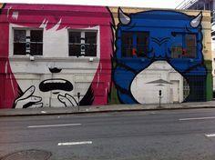 Cool SF Mural