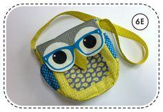 Geeky Owl BagTutorial ... OMG so cute!