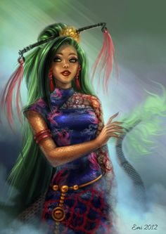 Jinafire Long by Ninsianna on deviantART