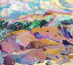 Lillia Frantin THE DUNES, PROVINCETOWN 32 X 36 OIL Great Palate!
