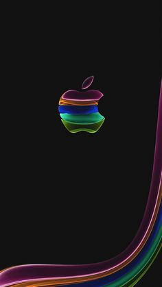 Wallpaper for iPhone Pink Apple in 2020 Apple logo