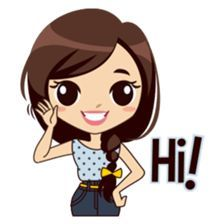 Meet sweet girl Alice, with her daily life as College Student, to cheer up your daily conversation. Love Cartoon Couple, Cute Cartoon Pictures, Cute Cartoon Girl, Cute Love Cartoons, Cartoon Girl Drawing, Cute Cartoon Characters, Cartoon Pics, Cute Pictures, Cute Love Images