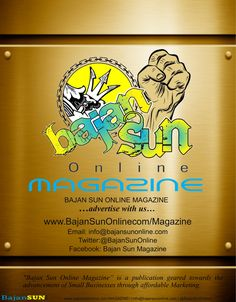 Hey, if you haven't yet read an edition of the Bajan Sun Magazine, now is the time… 15 Editions on Barbadian & Caribbean Entrepreneurs. Not only features on Stars or known Success stories, but also the fresh young emerging entrepreneurs.  There's something for everyone, Business Articles providing advice, Features on Fashion Modeling, Clothing, Makeup, Fitness, Bodybuilding, Health, Technology, Art, Photography, Poetry, Places of interest, Cuisine and more. www.bajansunonline.com/magazine