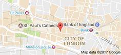 Map of Merchant House London