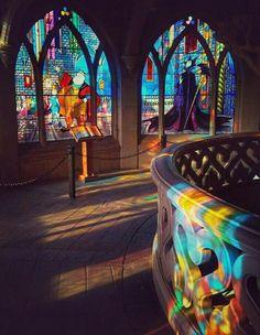 Inside Sleeping Beauty's Castle | Le Château de la Belle au Bois Dormant | Fantasyland | Disneyland Paris
