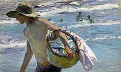 Joaquim Sorolla - el pescador.