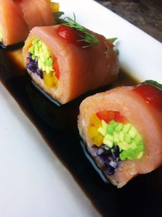 Smoked Salmon Rolls - Delicious and Delicate Appetizer! ;-)  www.SeonkyoungLongest.com  www.Youtube.com/SeonkyoungLongest  www.facebok.com/SeonkyoungLongest