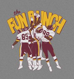 Fun Bunch - Redskins - Busted Tee