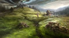 Otherworld - dark plains by firedudewraith on DeviantArt
