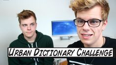 Who doesn't love the Urban Dictionary? NikinSammy created their own challenge after did his 'Dictionary Challenge'. Did you enjoy it? Urban Dictionary, Enjoy It, Youtubers, Twin, Challenges, Facebook, Twitter, Twins