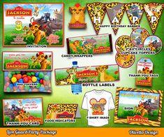 La Guardia del León Kit Imprimible Personalizado por OlivettaDesign