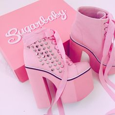 Pink sugarbaby shoes from dollskill