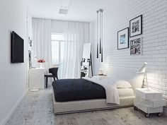 White Bedroom Ideas for Small Room