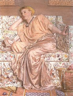 Pansies by Albert Moore