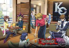 Welcome at the kc Cafe! Tea gardener - Yugi Muto - Aigami - Joey Wheeler - mokuba kaiba - Seto kaiba - dsod- Dark side of Dimensions - Yu-Gi-Oh! Kaiba Yugioh, Yugioh Yami, Digimon, Blade Runner, Resident Evil, Dark Side Of Dimensions, Yu Gi Oh Zexal, Yugioh Monsters, Yugioh Collection