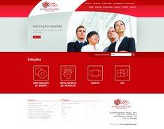 #website    Seu site com um layout exclusivo e conteúdo gerenciável. Confira as vantagens dessa tecnologia acessando: www.esgpropaganda.com.br  Cliente: http://www.inovacaogis.com.br/