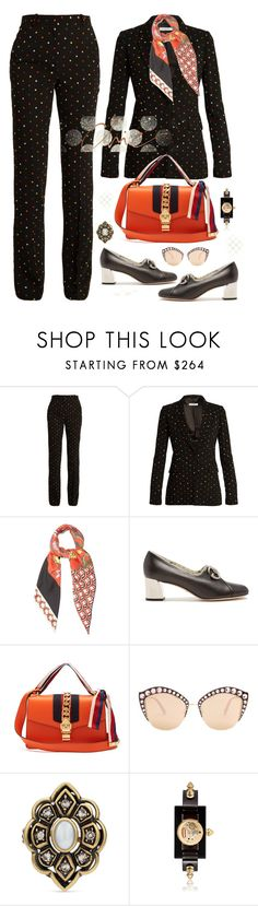 """""""Connecting The Dots"""" by jacque-reid ❤ liked on Polyvore featuring Givenchy, Gucci and gucci"""