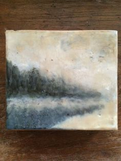 Encaustic Block, Dreamy by theresastirling.com