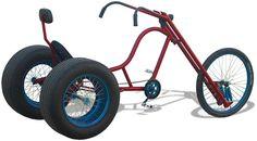 Brad Graham's homemade Gladiator chopper