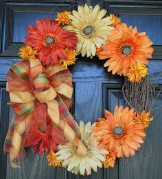 Fall Wreath Autumn Wreath