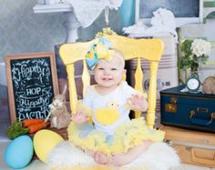 my first easter outfit easter girl outfit easter by PoshPeanutKids