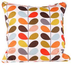 Orla Kiely Multi Stem Print Medium Cushion modern pillows