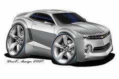 Chevy Camaro, Chevrolet, Racing Car Design, Design Cars, Moose Cartoon, Cool Car Drawings, Hot Cars, Race Cars, Super Cars