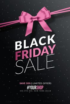 Black friday card template Source by
