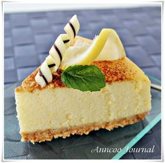 Lemon Cheesecake | Anncoo Journal - Come for Quick and Easy Recipes