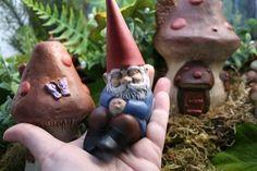 Garden+Gnome+Sleeping+Miniature+Concrete+Garden+by+PhenomeGNOME,+$34.99