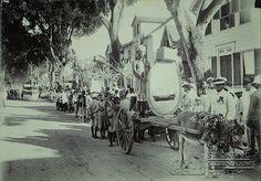 Wagenwegstraat emancipatieviering Suriname