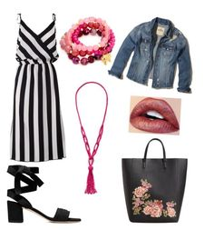 """""""Sin título #214"""" by prisdestyles on Polyvore featuring moda, Marc Jacobs, MANGO, Hollister Co., Good Charma y New York & Company"""