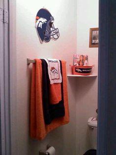 Broncos bathroom