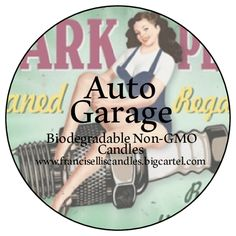 Auto Garage Candle