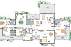 house plans australian homestead - Google Search