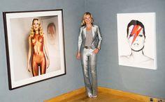 Celeb Diary: Kate Moss @ Christie's in Londra