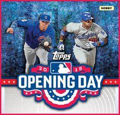 2015 Topps Opening Day Baseball Hobby Box (Pre-Order)