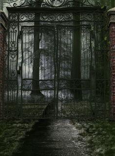 Image result for abandoned garden