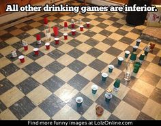 Ultimate drinking game...