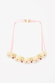 COS | Wooden bead necklace