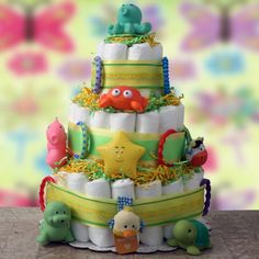 Have to have it. Play Time Diaper Cake $97.99