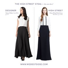Our high street steal of the Tommy Hilfiger Cara dress! The Blond detail gown by Mango has the same look and is perfect with its long sleeves! The lace detail makes this extra special! Grab it at a bargain price! It's on sale!