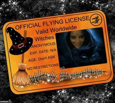 Witches Flying License