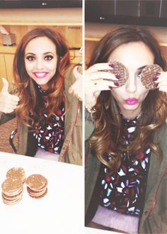 Jade and her biscuits(?).