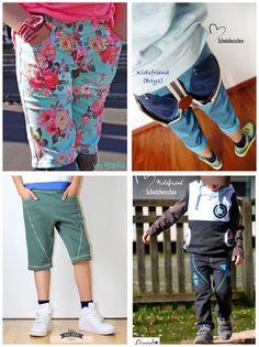"""ebook Schnittmuster """"kidsfriend-slim"""" unisex Hose  von Schnittherzchen auf DaWanda.com Tween, Unisex, Clothes, Fashion, Sewing For Kids, Sewing Patterns, Guys, Outfits, Moda"""