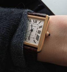 Cartier Tank Solo #luxuryjewelrymen