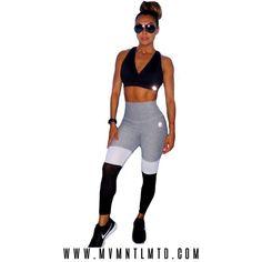 cff29cbfa8ebf Ft. ABS2B Fitness Apparel   Ash Grey Mesh Thigh High Leggings 😍 Tag a  friend