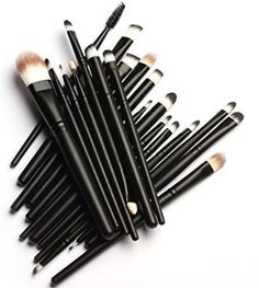 cool MakeupAcc® 20 Pcs Pro Makeup Set Powder Foundation Eyeshadow Eyeliner Lip Cosmetic Brushes - For Sale Check more at http://shipperscentral.com/wp/product/makeupacc-20-pcs-pro-makeup-set-powder-foundation-eyeshadow-eyeliner-lip-cosmetic-brushes-for-sale/
