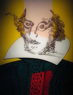 Take a look at this amazing Shakespeare in Love illusion. Browse and enjoy our huge collection of optical illusions and mind-bending images and videos. Shakespeare Portrait, Shakespeare In Love, William Shakespeare, Grant Wood American Gothic, British Literature, King Lear, Commonplace Book, Hidden Pictures, Illusion Art