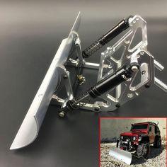 CNC Alloy Snow Shovel for 1/10 TRAXXAS TRX-4 SCX-10 SCX10-lI Crawler RC Car Part #Unbranded